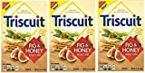 Triscuit Fig & Honey Crackers Bulk Multi Pack Bundle. 3 Pack (8.5 Ounce)