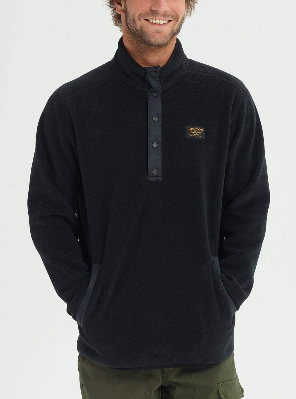 Burton Herren Hearth Fleece Pullover True Black