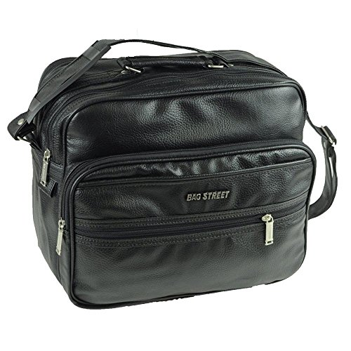 Bag Street Damen Herren Unisex Handtasche Umghängetasche Flugbegleiter Arbeitstasche Freizeit (Modell 1) Modell 1 awlH9wU