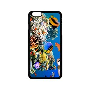 Fascinating Sea World Hight Quality Plastic Case for Iphone 6 by lolosakes
