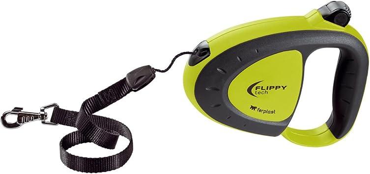 Ferplast Automatikleine Flippy Tech Cord mit Cordseil f/ür Hunde