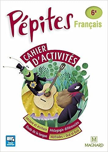 Amazon Fr Francais 6e Pepites Cahier Maroc Collectif
