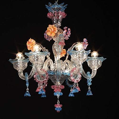 Murano glass chandeliers: classic style Venetian chandeliers