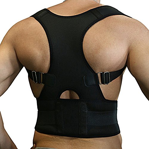 Active Authority B002M-B Thoracic Back Brace Magnetic Pos...