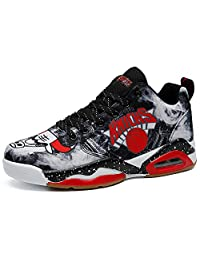 No.66 Town Men's Women's Air Cushion Athletic Couple Running Shoes Sneaker,Youth Basketball Shoes