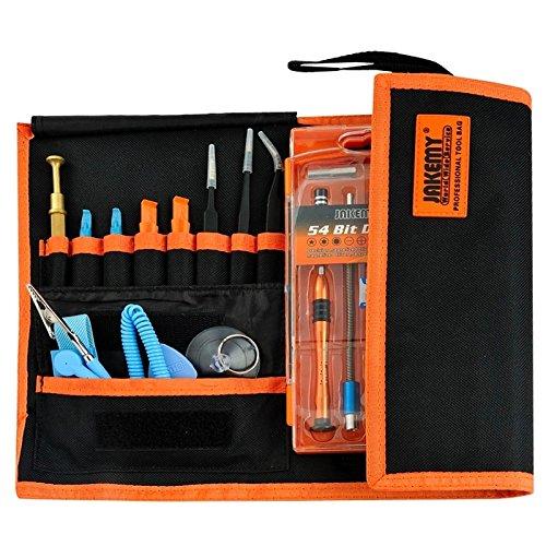 Dean Professional Mobile Phone Repair Tool Multifunction Precision Screwdriver Kit Repair Disassemble Tools Set 74 in 1 Watch Repair Tool by Dean