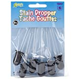 Kelly's Crafts: Glass Stain Droppers, Pack of 6 (15053)