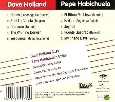 Hands & Pepe Habichuela: Dave Hole: Amazon.es: Música