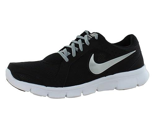 promo code f8b85 fe908 Nike Flex Experience Run 2 Negro Gris Zapatillas de Running para Mujer,  Negro (Black Metallic Silver-Wolf Grey-White), 5 B(M) US  Amazon.es  Zapatos  y ...