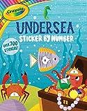 Crayola Undersea Sticker by Number (6) (Crayola/BuzzPop)