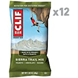 CLIF BAR - Energy Bar - Sierra Trail Mix- (2.4 Ounce Protein Bar, 12 Count)