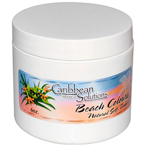 CARIBBEAN SOLUTIONS SELF TANNER,BEACH COLOURS, 6 OZ 2 Pack