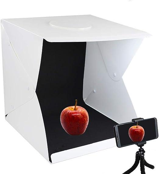 SHENXIAOMING Caja de Fotografía Caja de Luz Portátil 40 x 40 x 40 ...