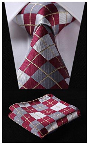 Gray Silk Extra Long Ties - 2
