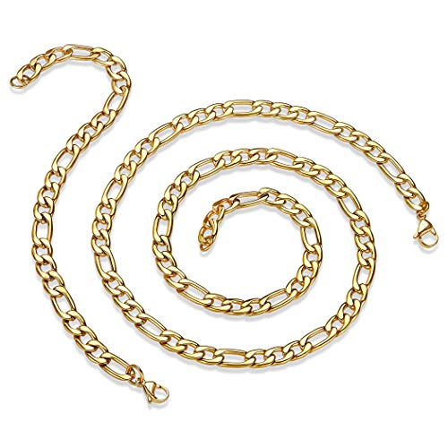 (West Coast Jewelry   Crucible Stainless Steel Gold Plated High Polished 24