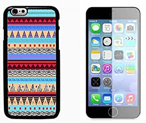Hipstr Nebula Aztec Pattern Hard Plastic and Aluminum Back Case FOR Apple iPhone 6 6G 4.7 by mcsharks
