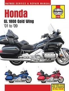 honda 1800 gold wing 2001 2010 clymer color wiring diagrams honda gl 1800 gold wing haynes repair manual 2001 2009