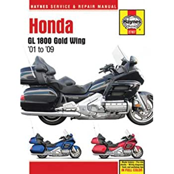 amazon com clymer repair manual for honda gl1500 goldwing 93 00 rh amazon com 1984 Honda Goldwing Aspencade 1984 Honda Goldwing Aspencade