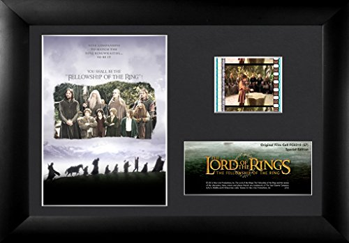 Trend Setters Lord of The Rings The Fellowship Framed Film Cell, Mini -