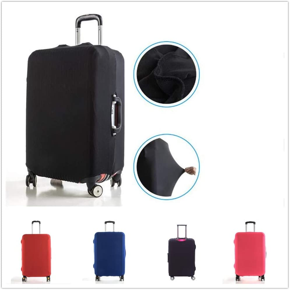 OUYAWEI High-Elastic Luggage Protective Cover Dust-Proof Anti Scratch Suitcase Bag Cover