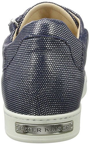 Peter Kelli 353 Crown Mujer Zapatillas Azul para Kaiser Notte grqTw6g