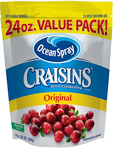 (Ocean Spray Craisins Dried Cranberries, 24 Ounce)