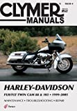 Harley-Davidson FLH/FLT Twin Cam 88 & 103 1999-2005 (Clymer Color Wiring Diagrams)