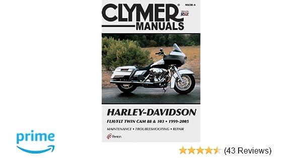 Harley-Davidson FLH/FLT Twin Cam 88 & 103 1999-2005 (Clymer Manuals on