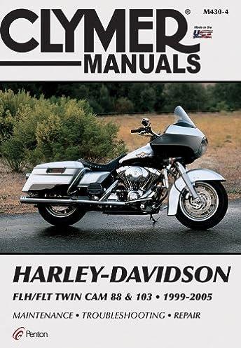 harley davidson flh flt twin cam 88 103 1999 2005 clymer manuals rh amazon com 2006 FLHX 2006 Harley Electra Glide Specs