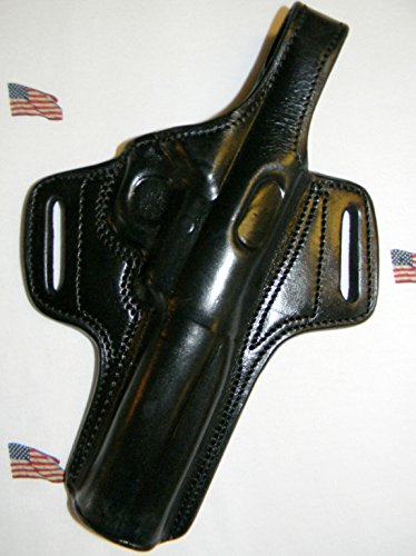 TAGUA THUMB BREAK BLACK RH HOLSTER FOR RUGER MARK III 5.5 & BROWNING BUCK MARK CAMPER 5.5
