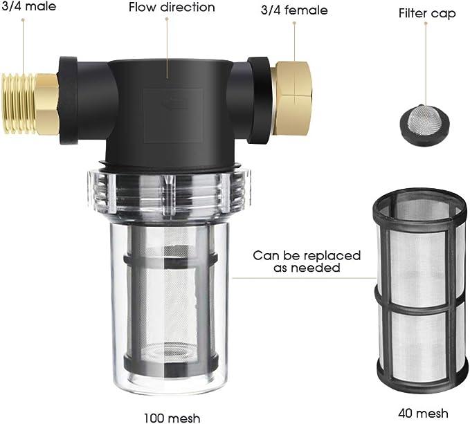 LQKYWNA Purificador De Agua Reutilizable Lavador De Alta Presión ...