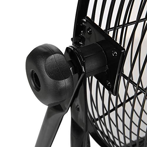Master PROFESSIONAL MAC-30BCT-EP, Heavy Duty, 30'' Direct Drive Basket Cradle Floor Fan-tiltable, Black by Master PROFESSIONAL (Image #3)