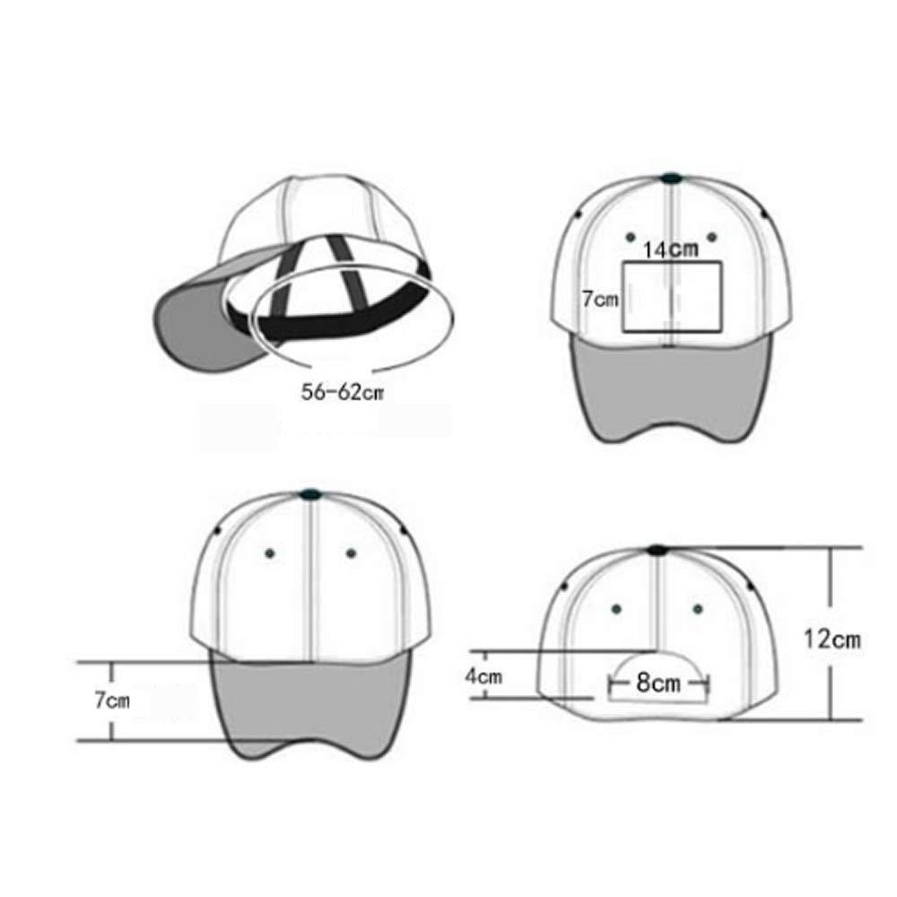 HXXWJ Gorra de b/éisbol con Visera en Blanco y Negro for Hombre Tide Brand Hat for Hombres versi/ón Coreana del Sombrero de Sol Marea Juvenil Gorra Casual Gorra Deportiva de Estudiante Gorra Hip Hop