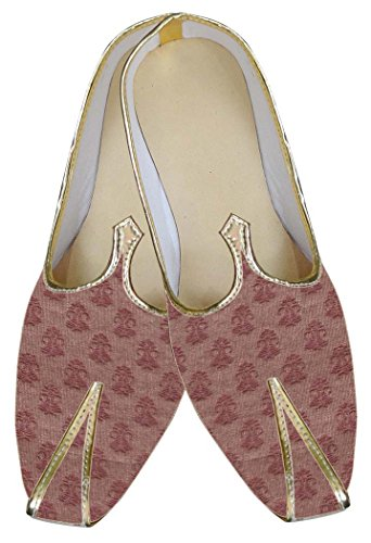 Boda Moda Hombres MJ0011 Marrón Zapatos INMONARCH wqZzx6xY