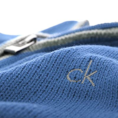 Calvin Klein Golf Men's Chunky Cotton Sweater - US M - Denim