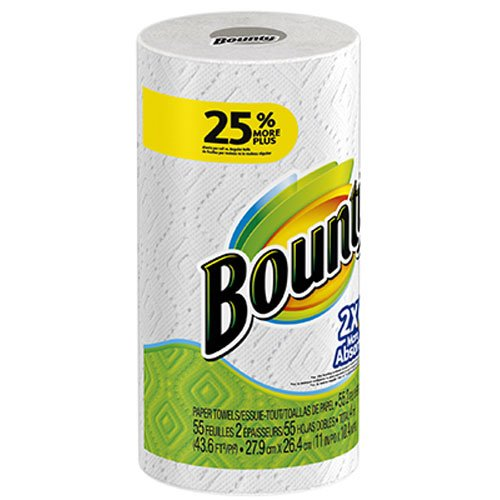 UPC 037000882763, Procter & Gamble 88276 Bounty Single White Towel