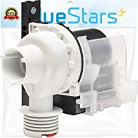 Ultra Durable 137221600 Washer Drain Pump Replacement part by Blue Stars- Exact Fit for Kenmore Electrolux Washer- Replaces 131724000 134051200 134740500