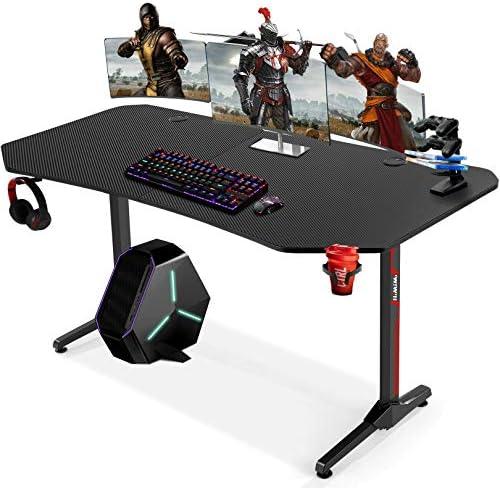 63 Inch Ergonomic Gaming Desk