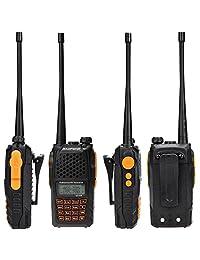 136   174 400   520 MHz Transceptor Radio Baofeng uv 6r correa dual correa bidireccional alta potencia 5 W   1 W 65   108 MHz FM