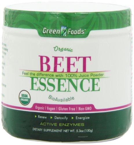 Зеленые продукты Свекла Сущность, 5,3 унции