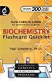 img - for Biochemistry Flashcard Quicklet: Flash Cards in a Book for Biochemistry Students book / textbook / text book