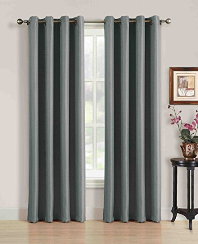 Creative home textiles solid premium quality curtains with for Home decor 72