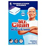 Mr. Clean Magic Eraser Kitchen and Dish Scrubber, 4 Count