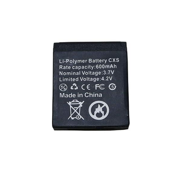 Amazon.com: Batería de 600 mAh para nuevo QW09 Smart Watch ...