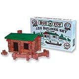 build a toy log cabin - Miniature Log Cabin