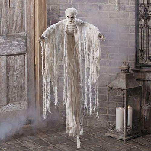 Lgp Hanging Mummy Halloween Holiday & Seasonal fall Decor ()