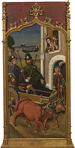 Oil Painting 'Bernat Martin Embarque En Jafa Del Cuerpo De Santiago El Mayor 1480 90' 8 x 16 inch / 20 x 40 cm , on High Definition HD canvas prints is for Gifts And Dining Room, Foyer And Gym decor