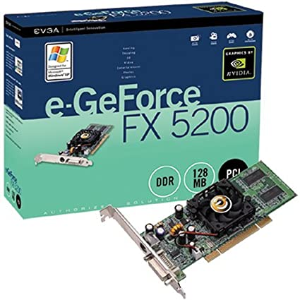 EVGA GEFORCE FX5200 DESCARGAR DRIVER