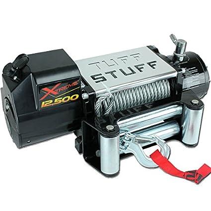 Tuff Stuff Overland TS 12500 XT 12 500 LB Winch W 88 FT Wire Waterproof Xtreme