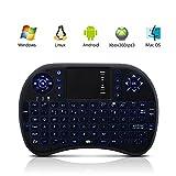 Maketheone® 2.4G Mini Wireless KODI XBMC Keyboard Touchpad Mouse Combo -...